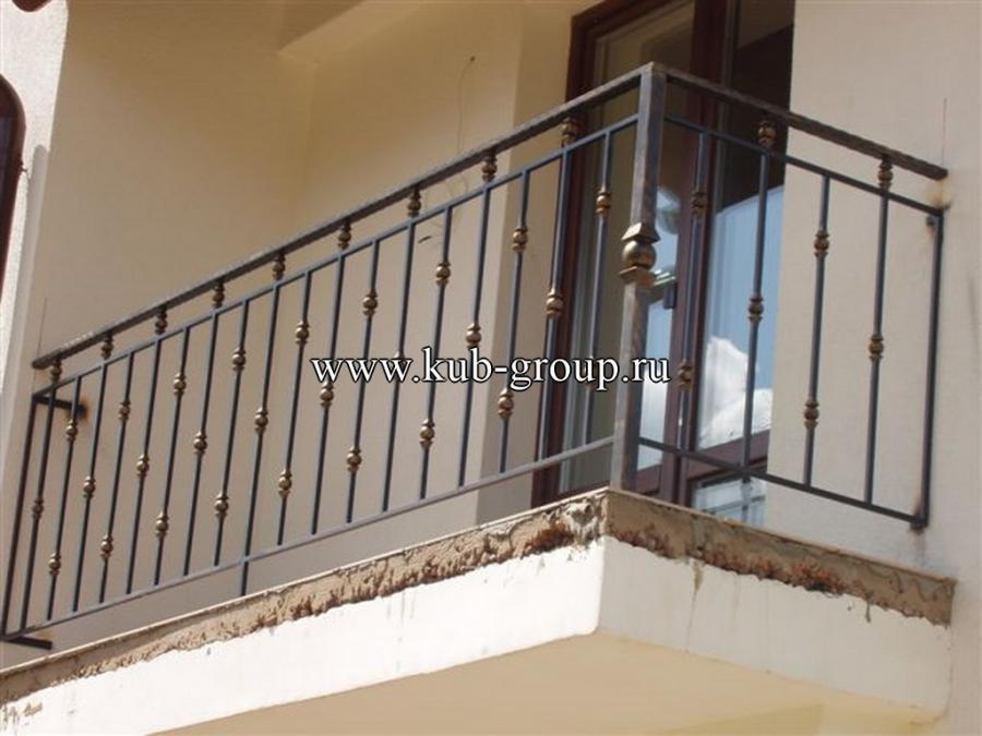 Сварные ограждения на балкон цены.